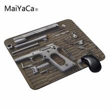MaiYaCa Топ Мода Дизайн Прохладный Винтаж Огнестрельное Оружие Пистолеты Серии Коврики Для Мыши Anti-Slip Прямоугольник Коврик Для Мыши Индивидуальные Поддерживается