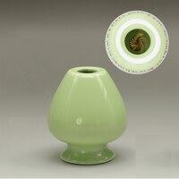 Light Green Japanese Matcha Whisk Holder Used Whisk Reshaper Bamboo Chasen Stand Japan Tea Ceremony Tools