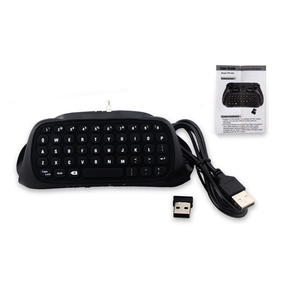 Image 5 - HAOBA 2.4G Wireless Mini Controller Keyboard Gamepad  Chatpad for PS 4 / PS 4 Slim / PS 4 Pro