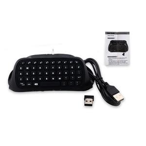 Image 5 - HAOBA 2.4G Wireless Mini คีย์บอร์ดคอนโทรลเลอร์ Gamepad Chatpad สำหรับ PS 4/PS 4 Slim/PS 4 Pro