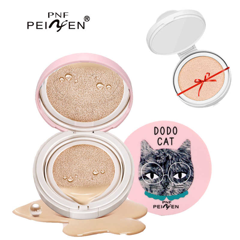 PNF Brand Hot Sale Bases BB Cream Make Up for Women Long Lasting Brighten Face Foundation Whitening Cream BB Cushion Makeup new pnf brand makeup moisturizer whitening air cushion bb cc cream primer face concealer brightener foundation base bb cream
