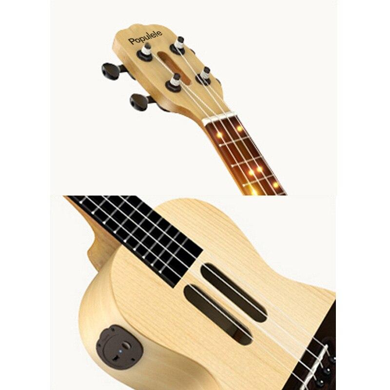 Populele U1 Smart ukulélé Concert Soprano 4 cordes 23 pouces guitare électrique acoustique de Xiaomi APP Phone Guitarra ukulélé - 6