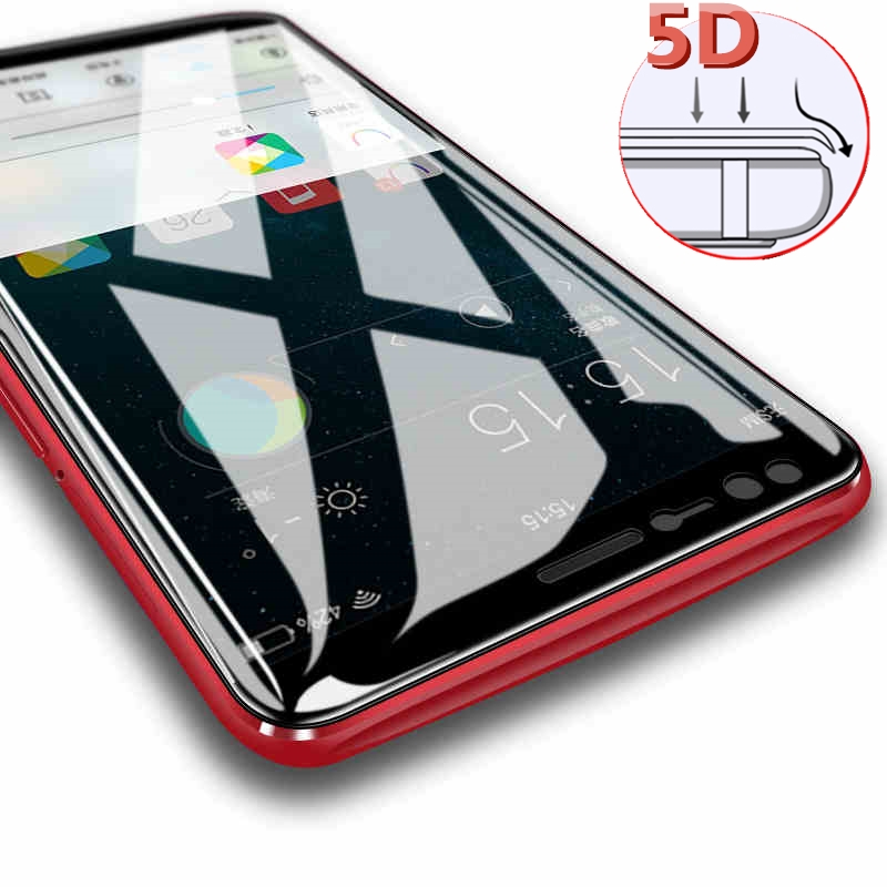 5D Glass for Oneplus 5T case for oneplus 5 T 5 Full Cover protective glass oneplus-5t phone protector one plus 5t tempered film
