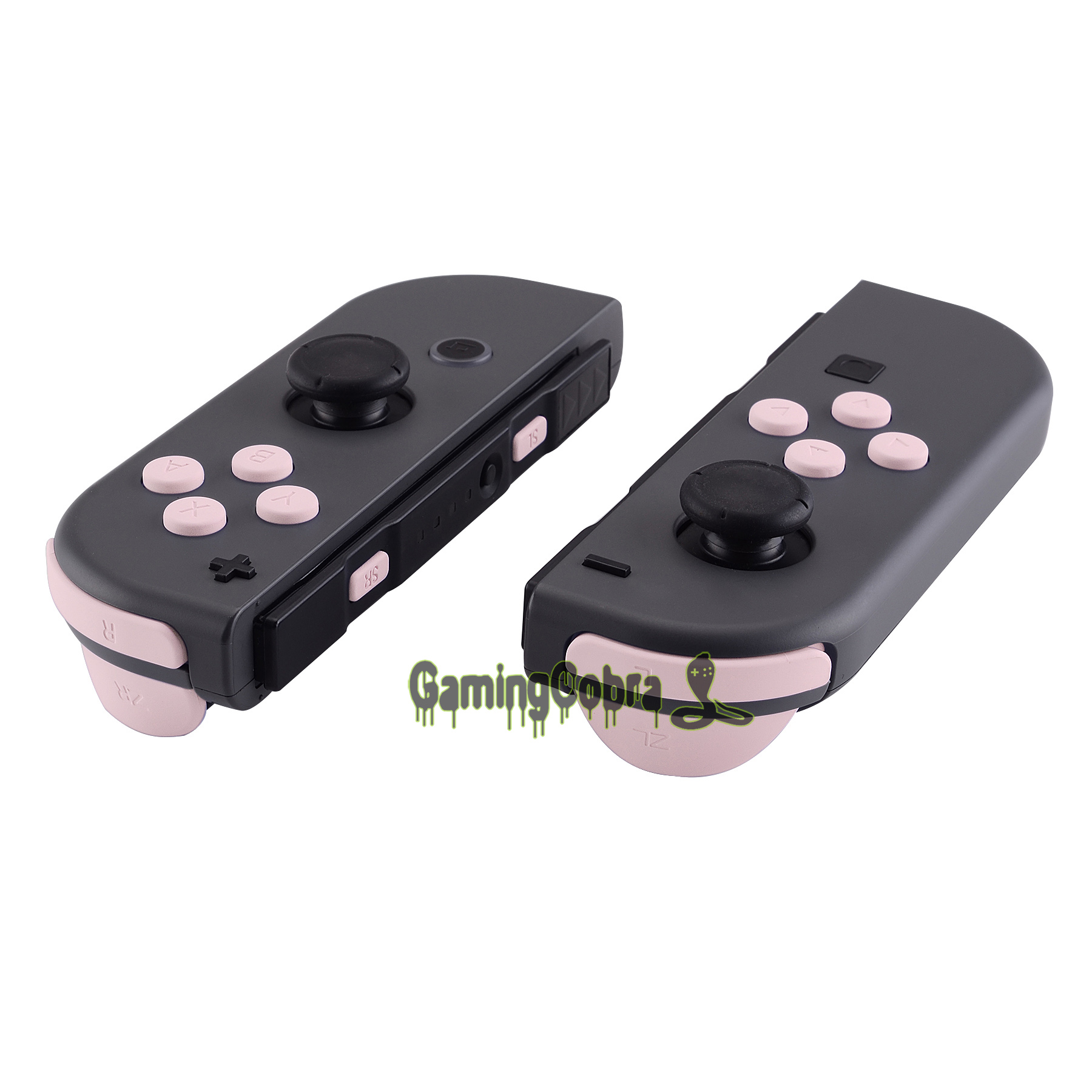 Soft Touch Sakura Pink Replacement ABXY Direction Keys SR SL L R ZR ZL Trigger Full Set Buttons w  Tools for Nintendo Switch Joy