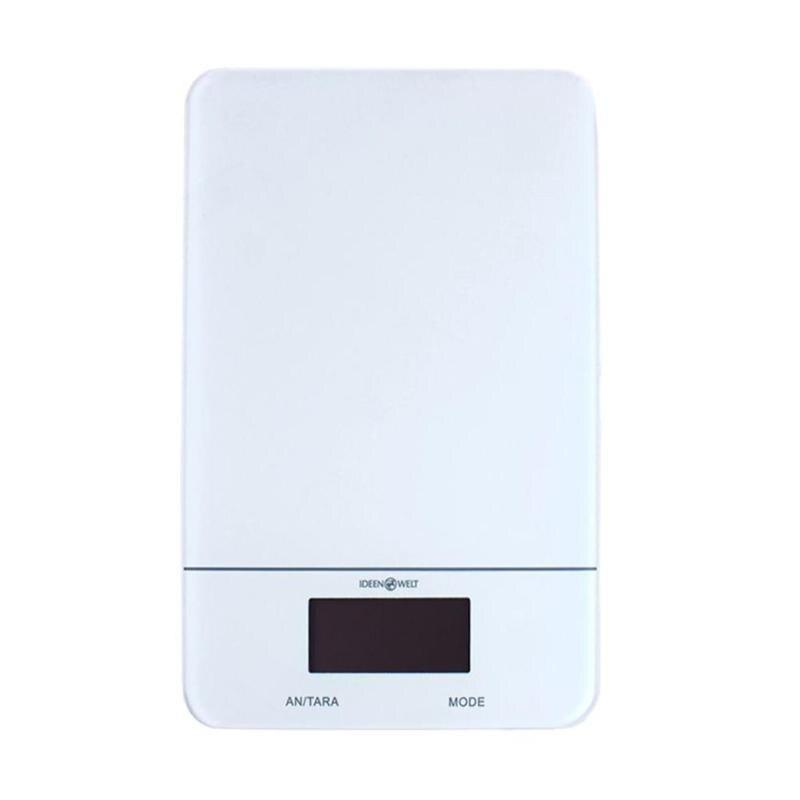 0,1g-5 kg LCD Digital Glas Skala der Hohen Präzision Elektronische Küche Haushalt Lebensmittel Pulver Wiegen Waage Werkzeug Ultra dünne Design