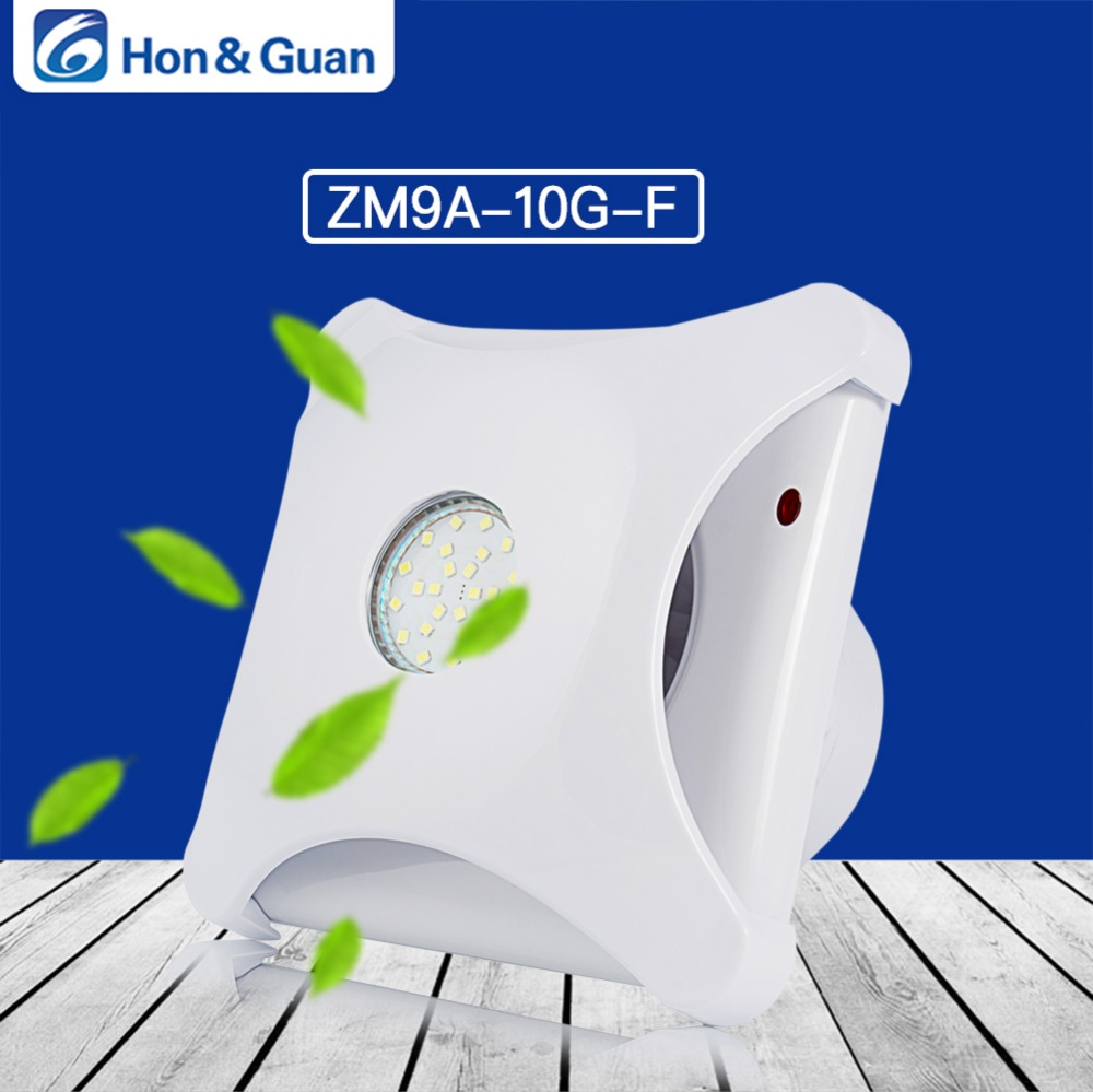 Hon Guan 4inch Ventilation Exhaust Fan HG POWER Strong Exhaust Extrator Fan Wall Mount Ceiling Exhaust