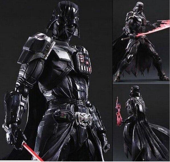 ФОТО Star Wars Action Figure Playarts Kai Darth Vader Toys Collection Model PVC 27cm Star Wars Vader Play arts Kai