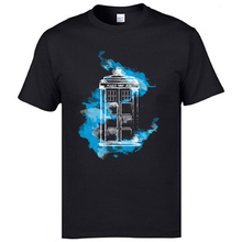 Doctor Who TARDIS T-Shirts Marvel Magic Dr Who Tshirts Machine And Time Dalek Spaceship T Shirt Good Quality Europe Tops Man роботы play smart робот трансформер огнеборец