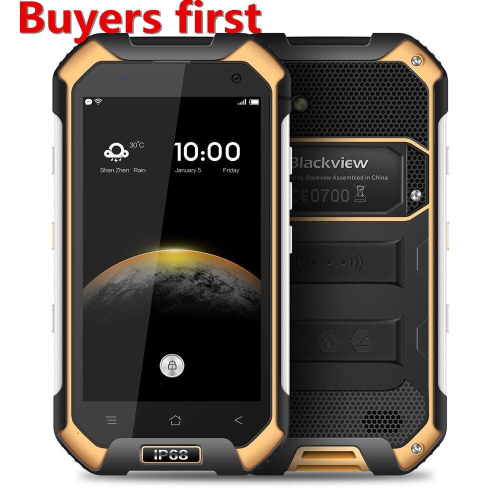 """bilder für Blackview BV6000 Smartphone 4,7 """"MT6755 Octa-core 4G Wasserdicht IP68 handy Android 6.0 3 GB RAM 32 GB ROM 13MP Handy"""