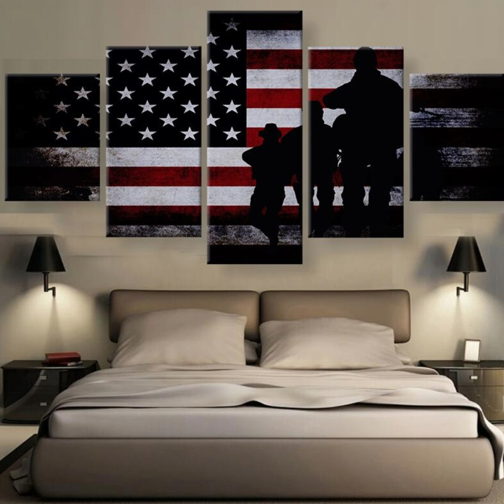 5 Panels Custom Made Picture Home Room Decor Picture Canvas Paintings on Canvas Wall Art for Home Decorations Wall Decor