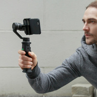Capture Handheld 3 Axis Gimbal For IPhone X Samsung Smartphone Gopro Face Tracking APP Control Stabilizer