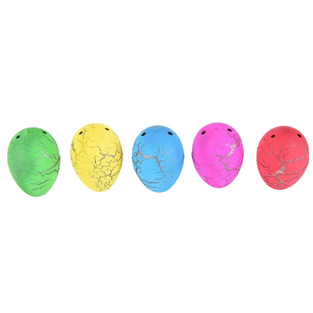 1 PCS Bonito Engraçado Água Mágica Crescente Ovo Para Incubação Dinossauro Das Crianças Das Crianças Coloridas Adicionar Crack Crescer Ovo Brinquedo