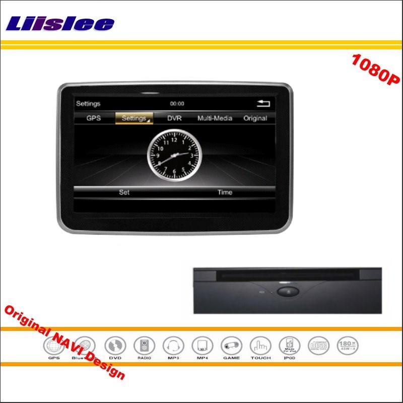 Liislee For Mercedes Benz C 200 2014~2016 Car Stereo Radio CD DVD Player GPS NAV NAVI Map Navigation 1080P HD Screen System