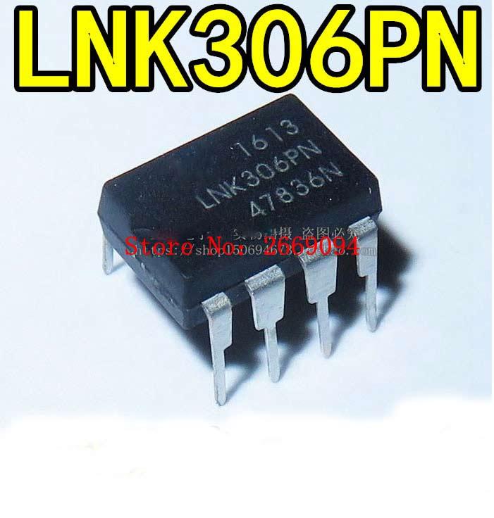 100PCS LNK306PN DIP8 LNK306P DIP LNK306 new and original IC