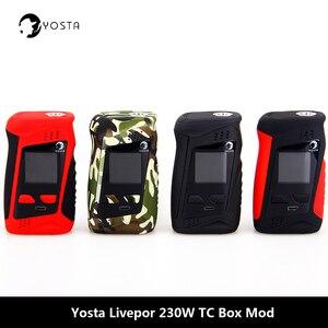 Image 1 - Orijinal Yosta Livepor 230 Kutu Mod 510 konu TC TCR vaping modları Vape mod 18650 pil elektronik sigara Mod buharlaştırıcı