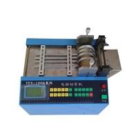 (Versão ordinária) máquina de corte automática YFX-100Q v/220v 110 w 0-350mm da tubulação do microcomputador da máquina de corte do tubo do computador 100
