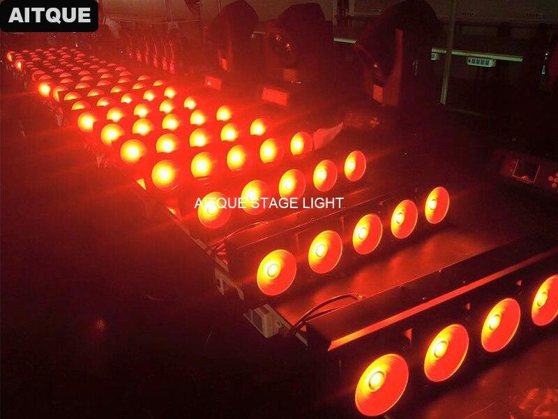 6pcs/lot Stage light led bar dmx 5x30w cob blinder rgb matrix wash light 30w warm white led matrix light show plaza light stage blinder auditoria light ww plus cw 2in1 cob lamp 200w spliced type for stage