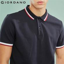 Giordano Men Slim Polo Pique Cotton Spandex T-shirt