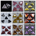 5Pcs/set Triangle Zircon 3D Nail Decoration Elegant Shining DIY Nail Art Manicure Accessories 3*3mm