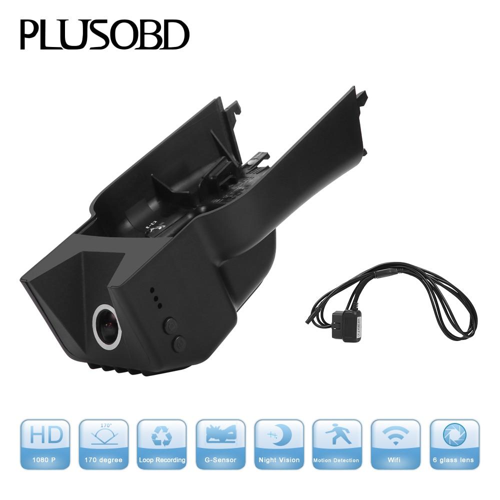 PLUSOBD سيارة كاميرا DVR داش كام لبنز GL M R - الكترونيات السيارات