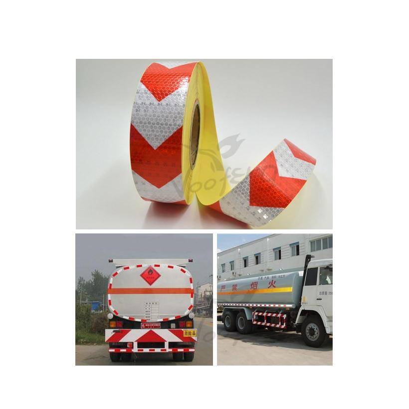 5cmx10m Kleines, glänzendes, quadratisches, reflektierendes - Schutz und Sicherheit - Foto 6