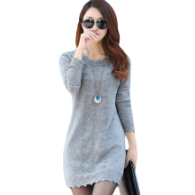 2019 New Hot Womens Spring Autumn Long Sleeve Knit Casual Sweater Female Plus Size Sweaters For Women pullovers Sweater NO756 цена