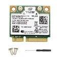 Беспроводная карта для Intel 7260HMW  Mini PCI-E  Wi-Fi  300 Мбит/с  двухдиапазонный 802.11agn  2 4 ГГц/5 ГГц  Bluetooth 4 0  для ноутбука с винтом