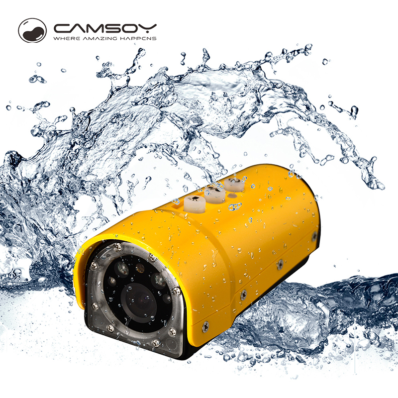 Camsoy sports DV waterproof mini camera FULL HD 1080P bicycle Helmet Camera mini DVR Sport CAM CMOS sport micro Camcorder SD190