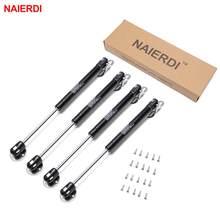 4 piezas NAIERDI 10-15 KG muebles de resorte de Gas bisagras de cocina armario bisagra hidráulica soporte de tapa caja de Hardware