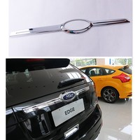 Car Chrome Plating Trim Trunk Accessories For Ford Edge Models 2011 2012 2013 ABS Auto Decoration