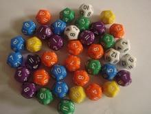 D12 bosons polyface multicolour boulimia table dice / 12 face Polyhedra Dice / DND game dice