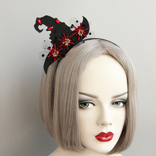 MIARA.L  high quality stage show wizard hat shaped headband Halloween decoration Christmas gift accessories