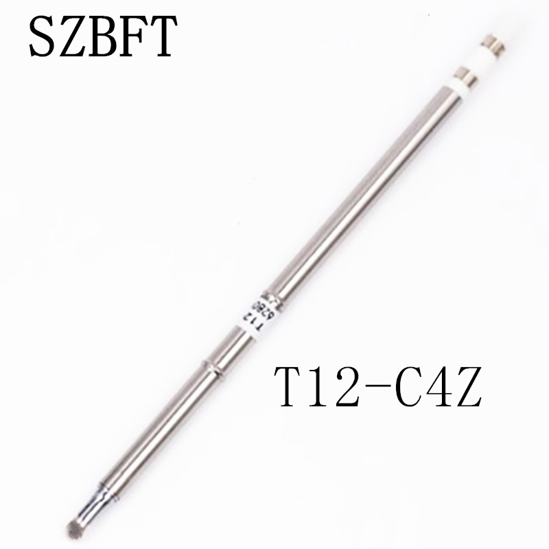 SZBFT Solder Iron Tips T12-C4Z BL C1 C4 D4 D08 D12 Series For Hakko Soldering Rework Station FX-951 FX-952 Free Shipping