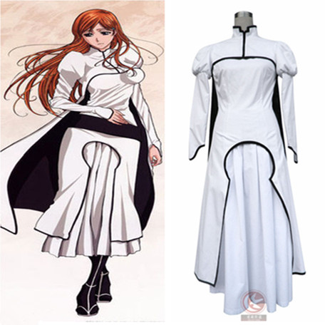 Orihime Inoue Cosplay Costume From Bleach Anime