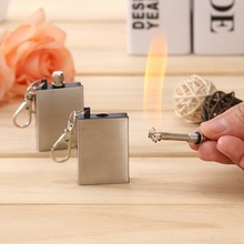 Thousands of times Flint Fire Starter Matches Portable Bottle Shaped Survival Tool Lighter Kit for Outdoor NO OIL