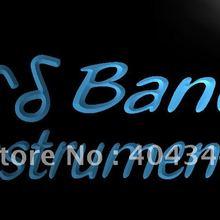 LB236-Band Музыкальные инструменты Рок н ролл свет Знак Домашний Декор ремесла