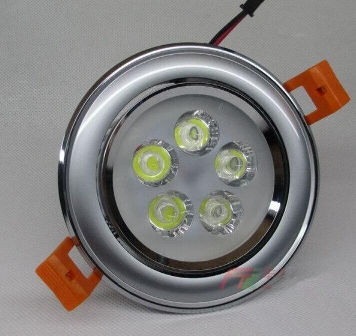 Новый стиль утопила свет 5*2 Вт LED Подпушка свет лампы Подпушка Свет AC110V-240V высокая яркость Бесплатная доставка