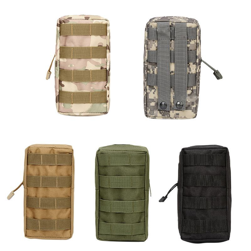 Airsoft Sports Military 600D MOLLE Utility Tactical Vest Waist Pouch Bag Pack