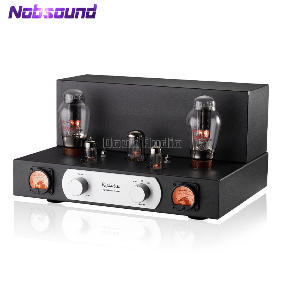 2018 Latest Hi-end Raphaelite 300B Vacuum Valve Tube Amplifier HiFi Single-ended Class A Stereo Power Amp yinfente 4 4 violin case box black mixed carbon fiber oblong case strong light 2 1kg music sheet bag full size