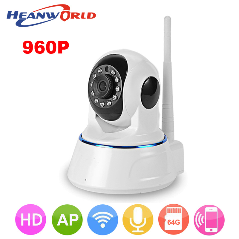 1.3MP 960P wireless IP Camera Wifi Security Camera Baby Monitor Night Vision Audio Pan/Tilt SD Card Surveillance Network Webcam 720p pan tilt ip camera wireless audio network security 1 0 mp night vision wifi webcam sacam72m8 remote view home alarm system