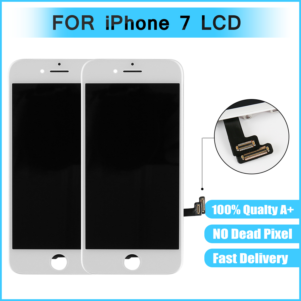 Lcd-Screen-Display IPhone7 Digitizer Assembly Touch For And White Black