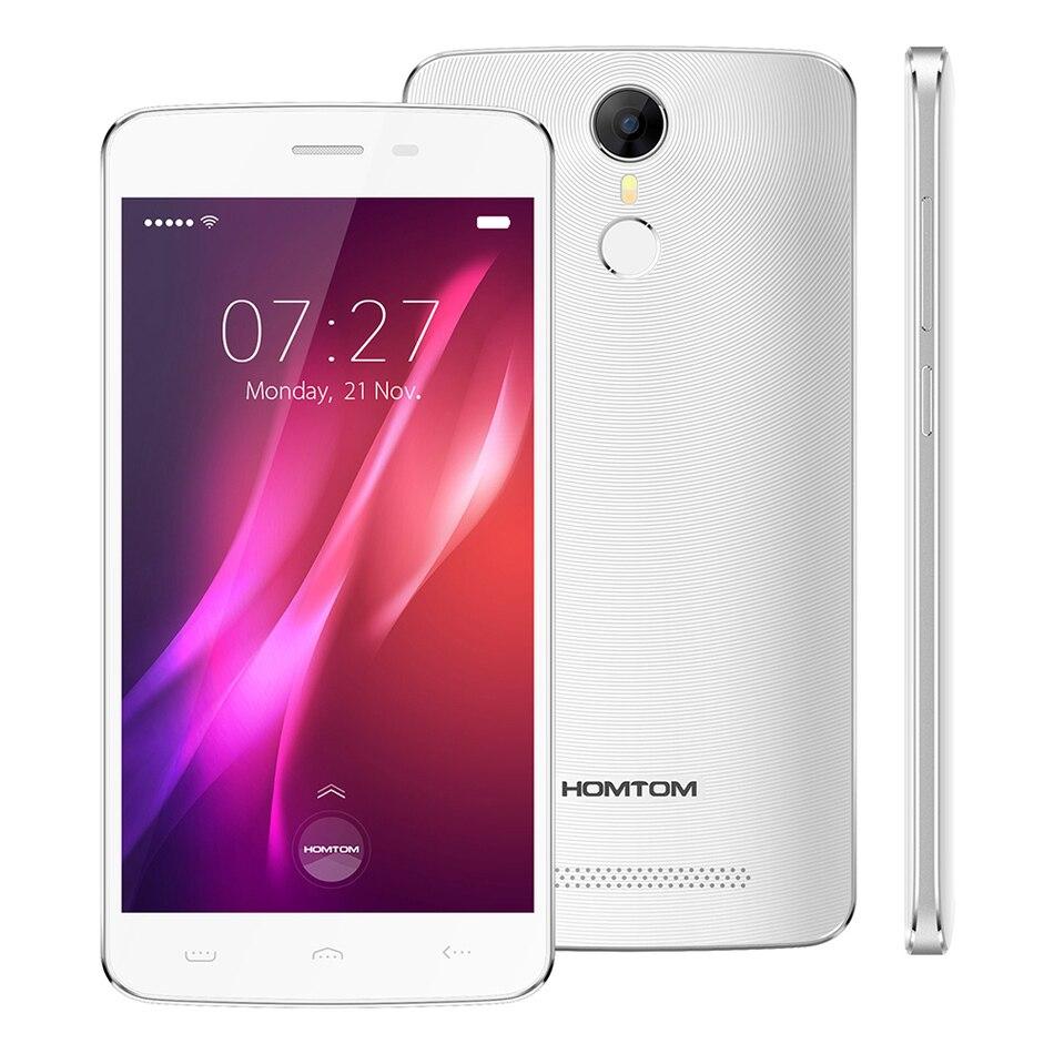 Цена за Оригинал Homtom HT27 5.5 ''Android 6.0 MTK6580 Quad Core 3 Г мобильный Телефон 1.3 ГГц 1 ГБ RAM 8 ГБ ROM 8MP Отпечатков Пальцев, Смарт Мобильный Телефон