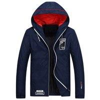 2017 primavera con capucha informal chaqueta de bombardero de los hombres impreso sudaderas piloto ropa de abrigo marca clothing jaqueta masculina plus tamaño 4xl
