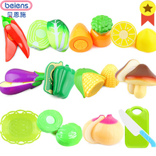Beiens Fruits and Vegetables font b Toy b font Educational Cut Vegetable font b Toys b
