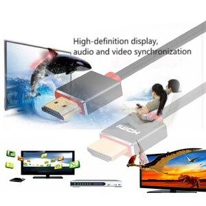 Image 2 - Lungfish CABLE HDMI 3D de alta velocidad 4K, 1080P, para proyector PS3, 1m, 2m, 3m, 24K, chapado en oro, 3840x2160 @ 60Hz