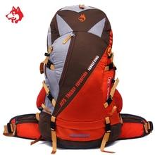 Famous Brand 50L Backpack Outdoor Sport Hiking Camping Bag Multifunction Big Capacity Nylon Hunting Travle Backpacks Rucksacks