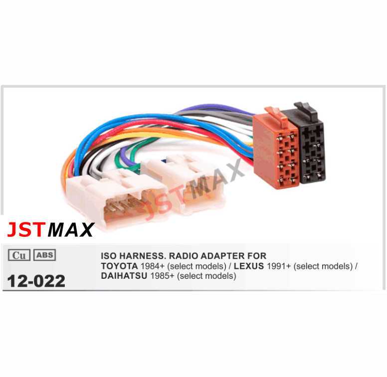 [SCHEMATICS_4HG]  JSTMAX ISO Radio Plug for Toyota Lexus Daihatsu Wiring Harness Wire Cable  Adapter Connector Adaptor Free Shipping Worldwide|radio plug|iso radio  plugiso radio - AliExpress | Lexus Wiring |  | www.aliexpress.com
