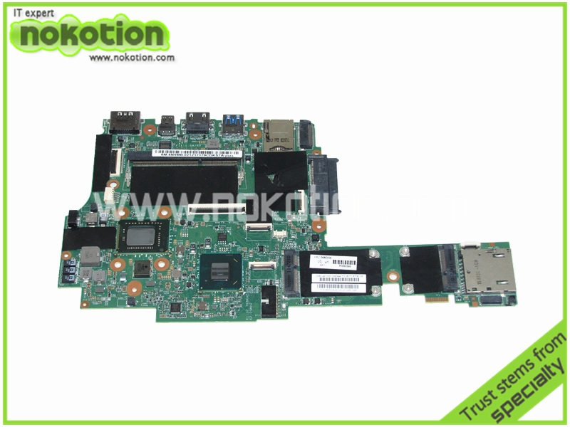 FRU 04W3536 For Lenovo IBM X1 font b motherboard b font Intel QM67 i5 2520M CPU