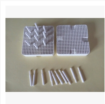 2pcs plates with 20 pcs porcelain nails Dental Lab Materials Pan Rack Circle Plate holding PFMs for Sintering