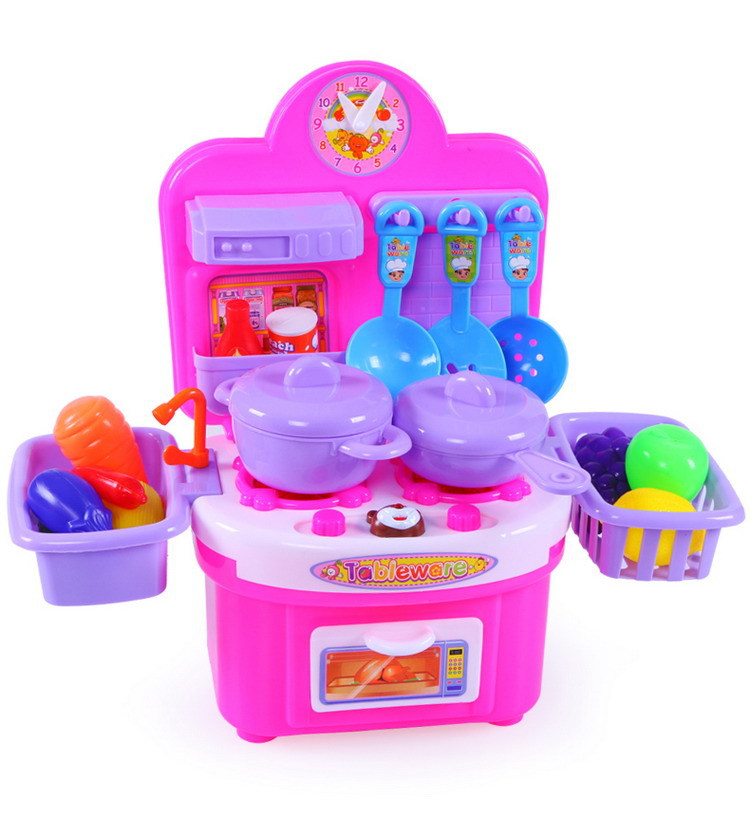 2016 Hot Children Kitchen Toys For S Cooking Kids Pretend Play With Music Role Playing Ty16 In From Hobbies On